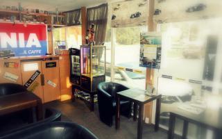 Drive Cafe Goodyear в Днепре - оазис в техномире