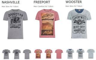 Сезонная брендовая одежда Goodyear и Lonsdale